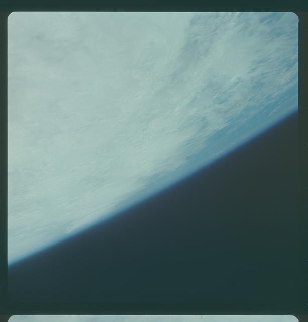 Gemini IV Mission Image -  Typhoon Carla