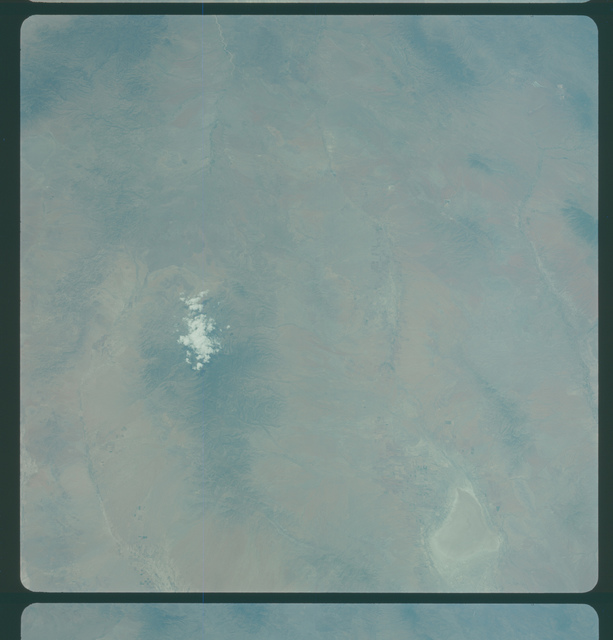 Gemini IV Mission Image -  Arizona, New Mexico area