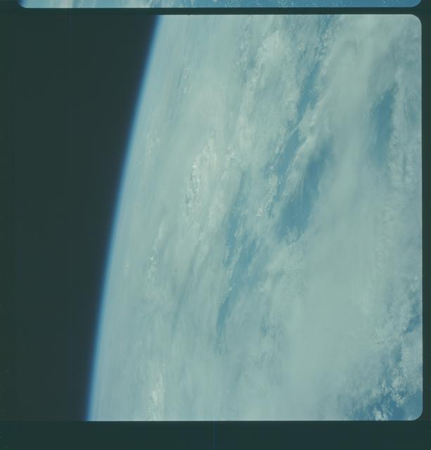 Gemini IV Mission Image -  Pacific Ocean east of Hawaii