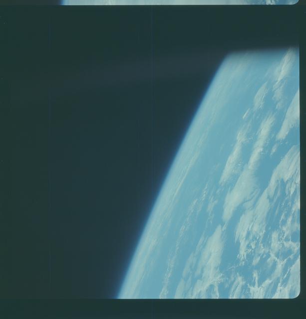 Gemini IV Mission Image -  Pacific Ocean southeast of Hawaii