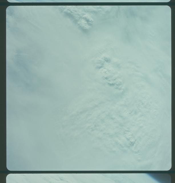 Gemini IV Mission Image -  Pacific Ocean, Tropical Storm Victoria