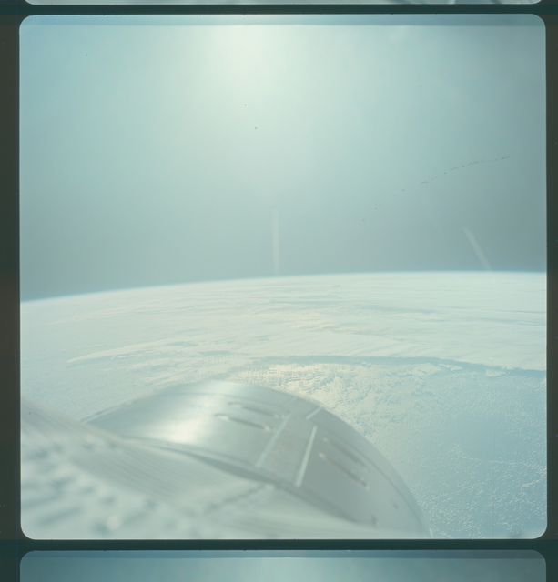 Gemini IV Mission Image -  Pacific Ocean west of Galapagos Islands