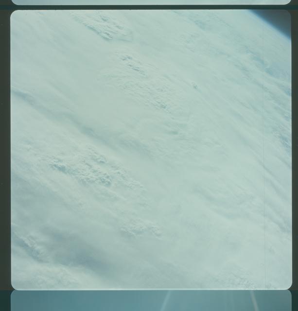 Gemini IV Mission Image -  Pacific Ocean,Tropical Storm Victoria