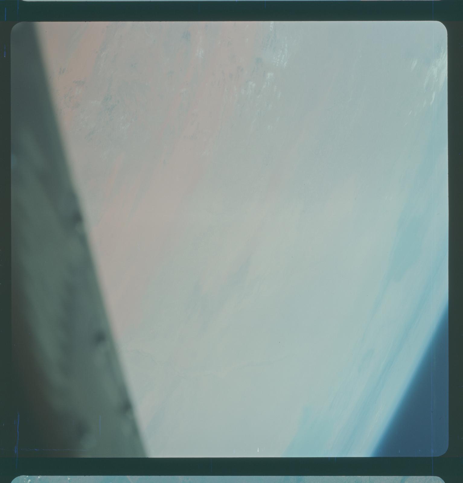 Gemini IV Mission Image -  Saudi Arabia and Iraq