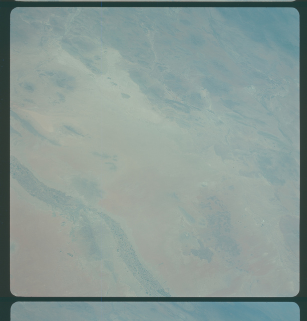 Gemini IV Mission Image -  South New Mexico, Texas and Mexico