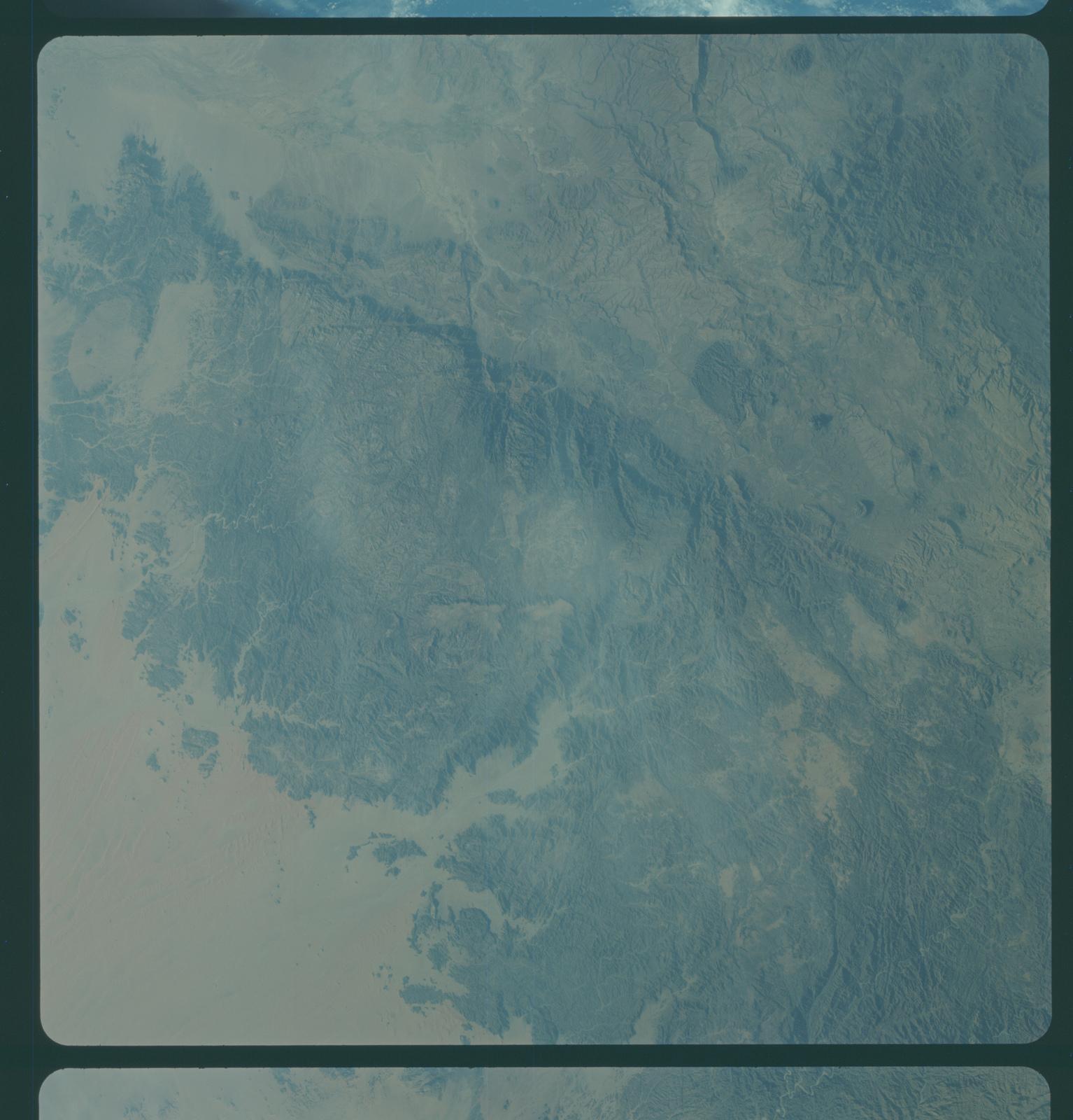 Gemini IV Mission Image -  Southwest Saudi Arabia, Yeman and Aden Protectorate