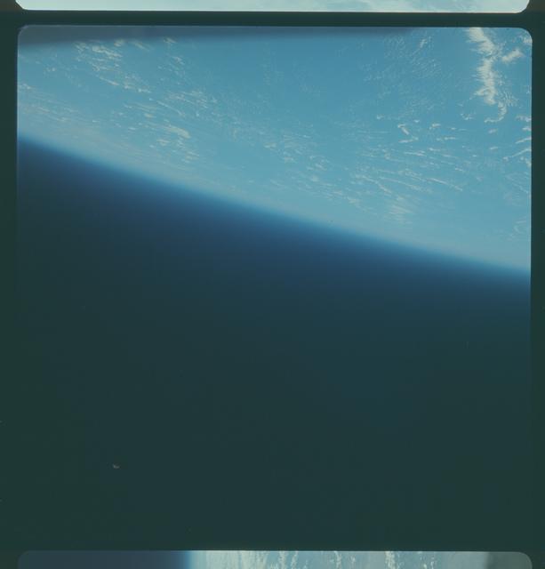 Gemini IV Mission Image - Earth limb