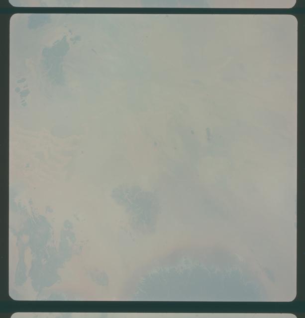 Gemini IV Mission Image - Eastern  Algeria,Grand Erg Occidental