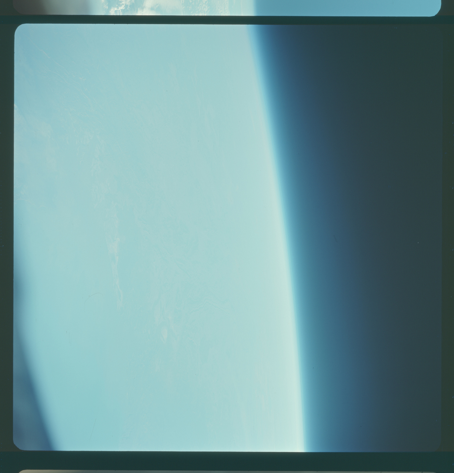 Gemini IV Mission Image - Overexposed
