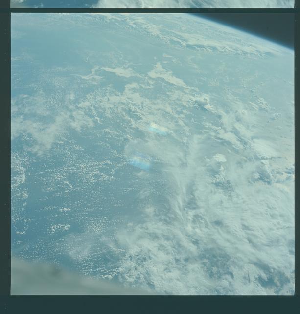 Gemini V Mission Image - Brazil, French Guiana, Hurricane Betsy
