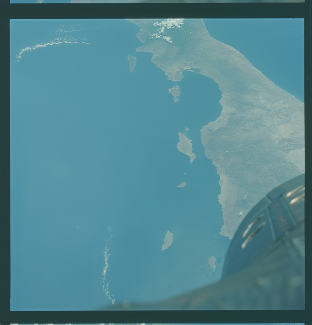 Gemini V Mission Image -  Mexico, Baja