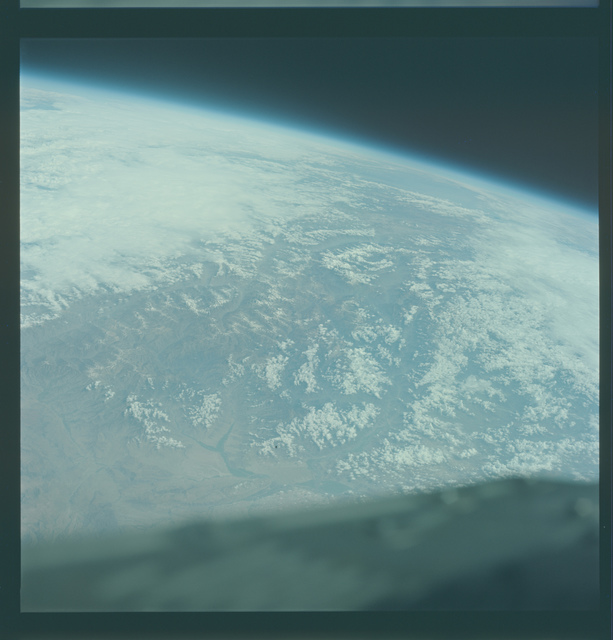 Gemini V Mission Image -  China, Tibet