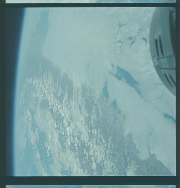 Gemini V Mission Image - Mexico