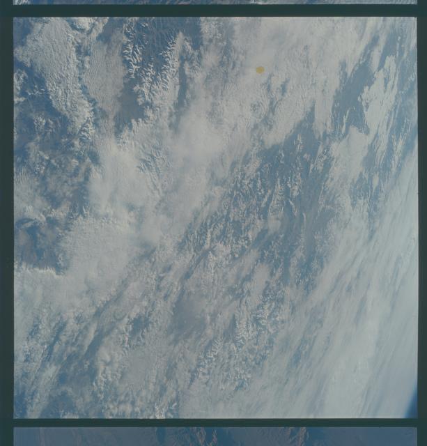 Gemini V Mission Image - Tibet, Nepal