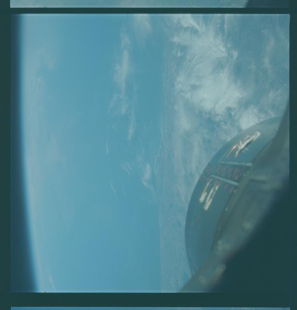 Gemini VII Mission Image - Florida