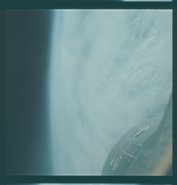 Gemini VII Mission Image - Clouds