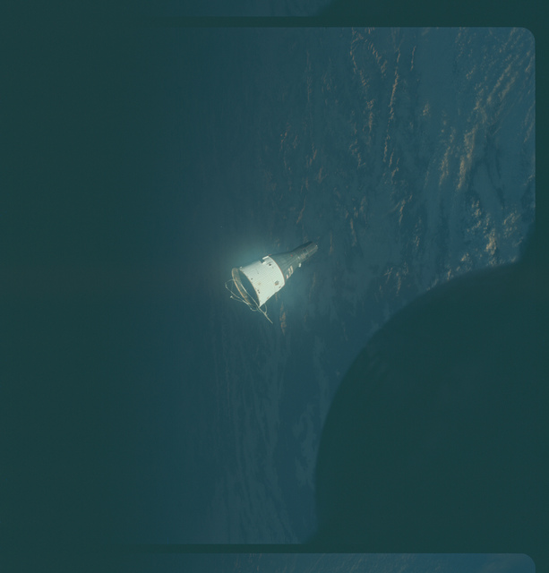 Gemini VI Mission Image - Rendezvous with Gemini VII
