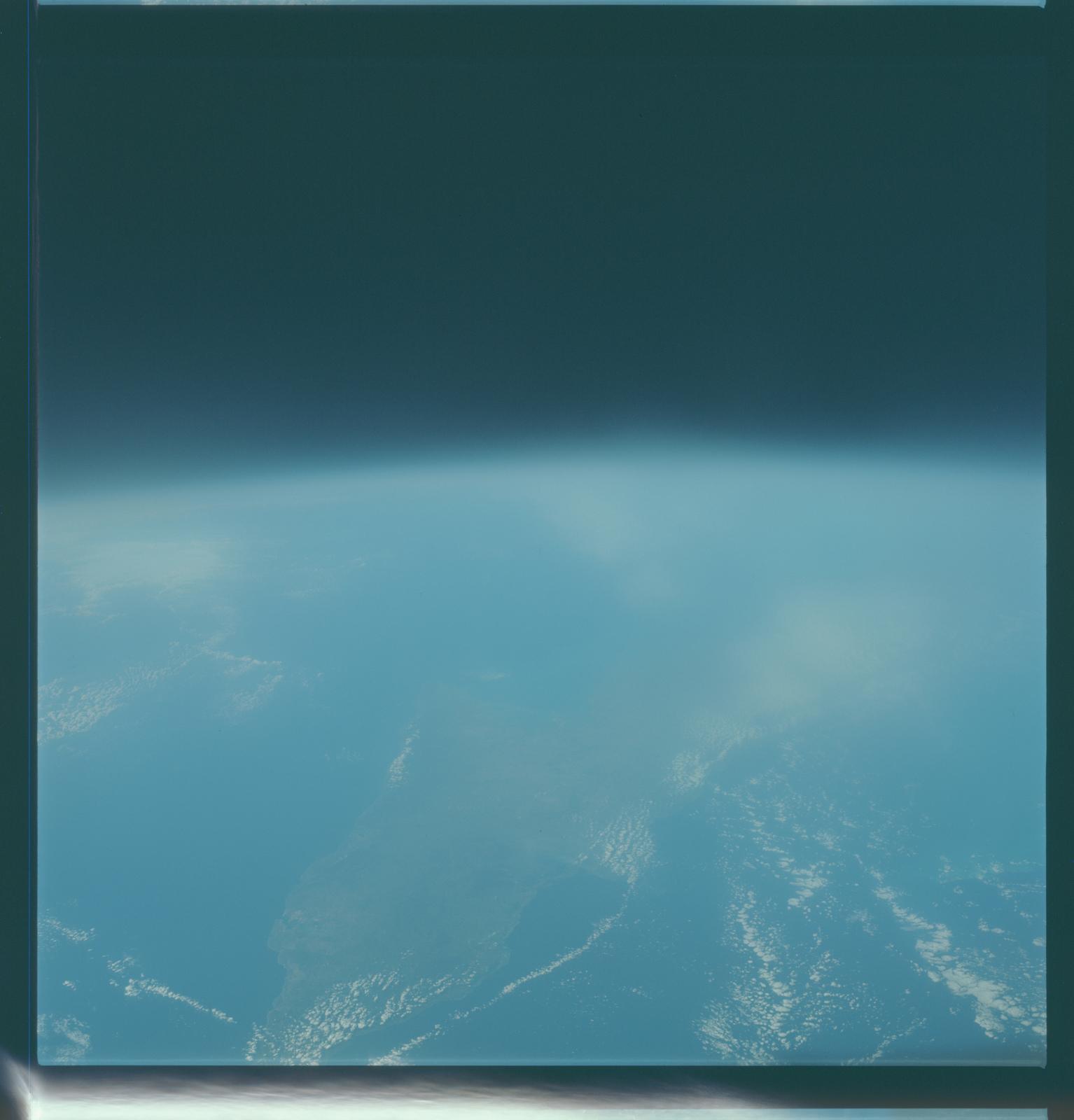 Gemini VII Mission Image - Cuba