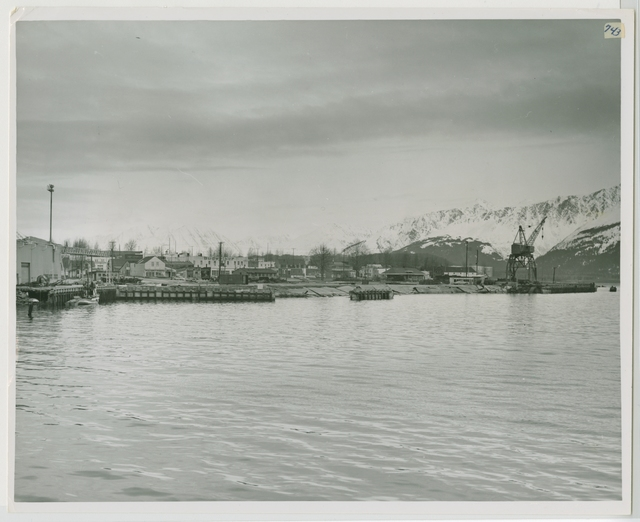 Seward, Alaska, view