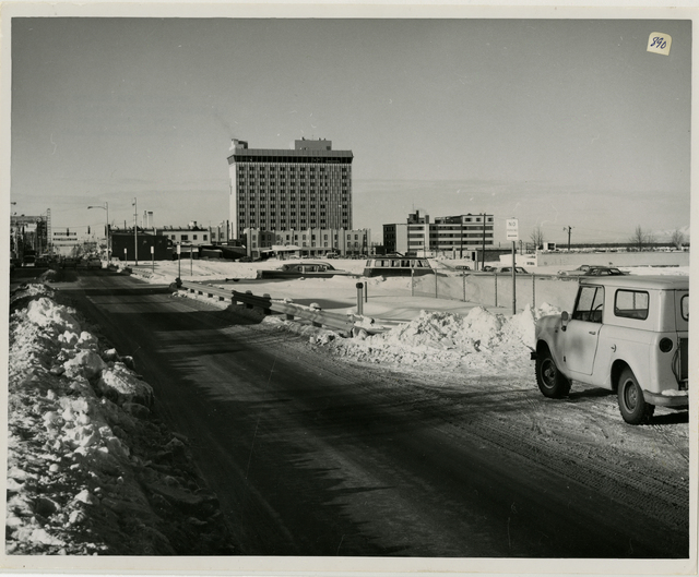 3/65. Anchorage - Overlooking Fourth Avenue Graben after cleanup and reshaping. See photo 305