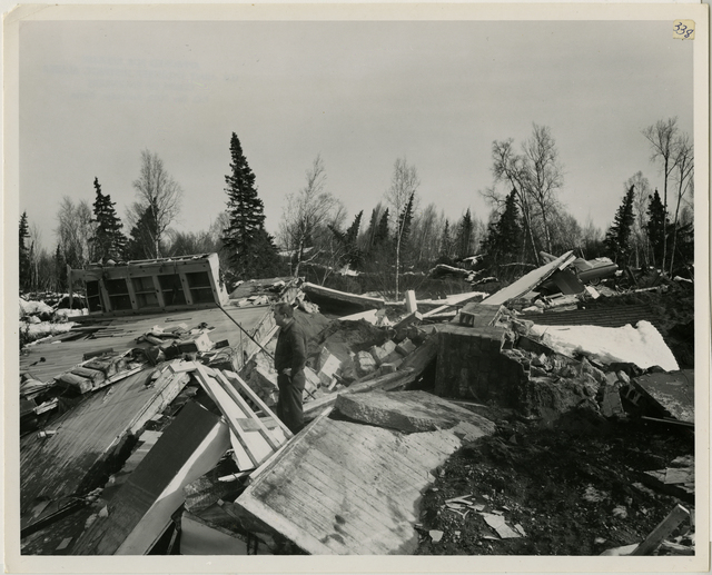 4/64. Anchorage - Shows savage destruction in Turnagain