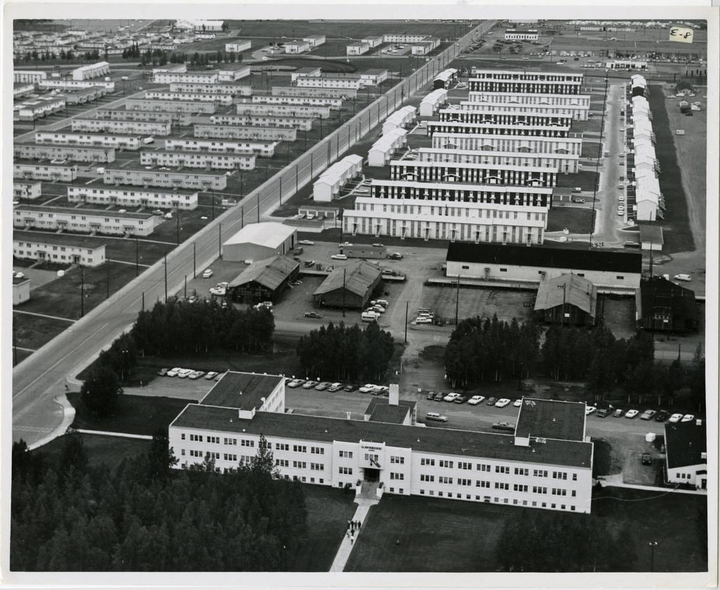 8/65. Anchorage - Elmendorf AFB- 8-plex housing