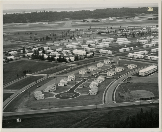8/65. Anchorage - Elmendorf Air Force Base- New officer's housing