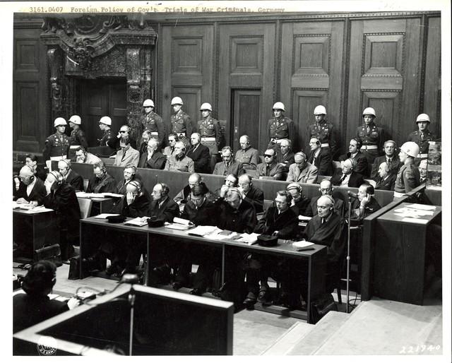 German War Crimes Trials, Nuernberg and Dachau