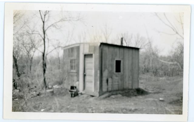 Home of Amos Roberts before Repair