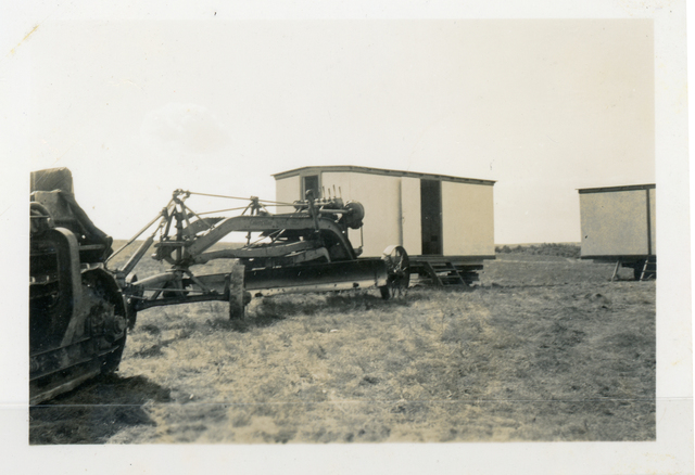 Two Camp Wagons have been Built for Use with Machine Crews