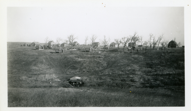 View of Community Housing Project