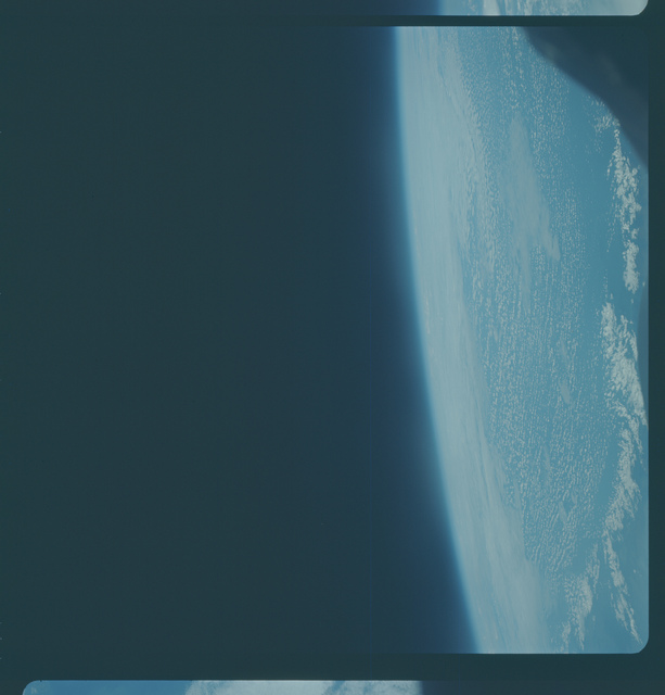 Gemini IX Mission Image - Clouds