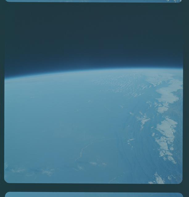 Gemini IX Mission Image - Bolivia/Paraguay/Argentina