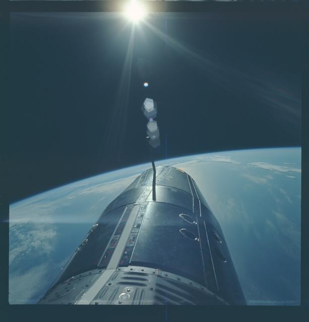 Gemini IX Mission Image - EVA