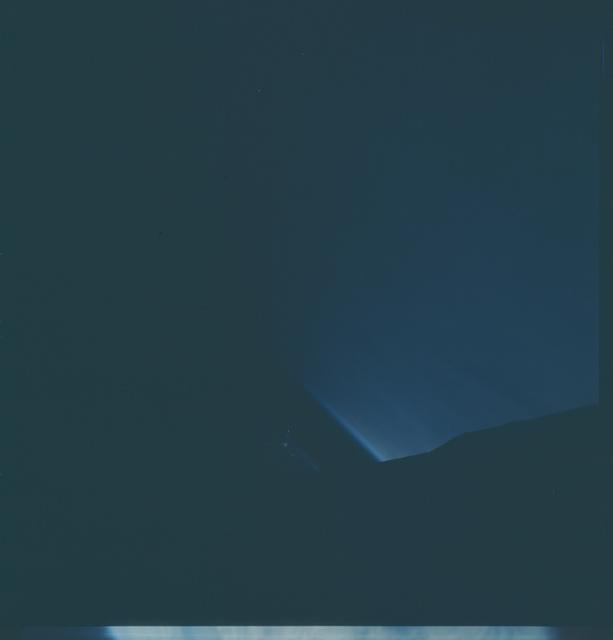 Gemini IX Mission Image - Limb/Sunset