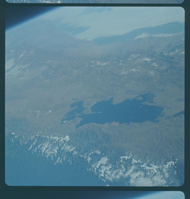Gemini IX Mission Image - Peru/Chile/Bolivia