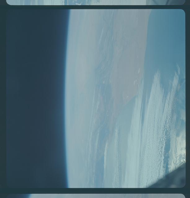 Gemini IX Mission Image - Fuerteventura Island/Morocco/Spanish Sahara