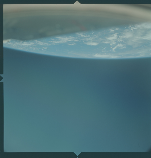 Gemini X Mission Image - Clouds