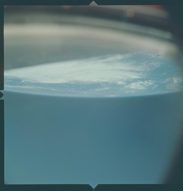 Gemini X Mission Image - Hurricane Celia