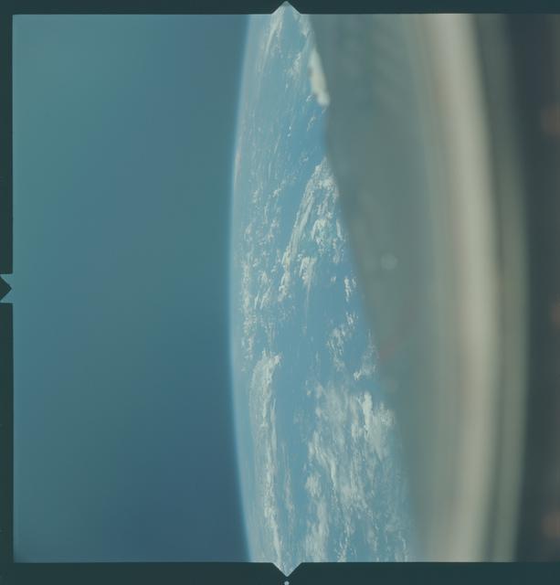 Gemini X Mission Image - Mexico/Cuba
