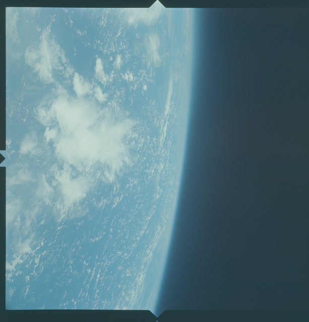 Gemini X Mission Image - Clouds