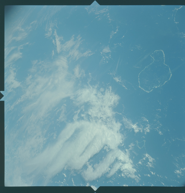 Gemini X Mission Image - Maldive Islands