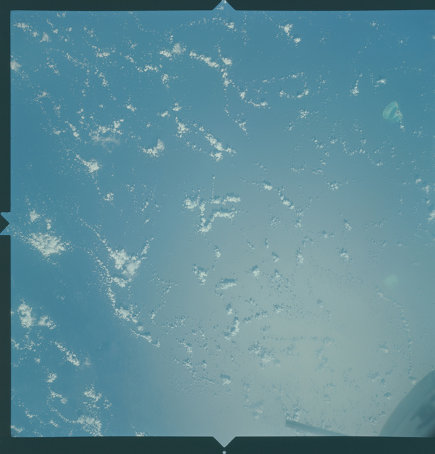 Gemini X Mission Image - Midway and Kure Islands