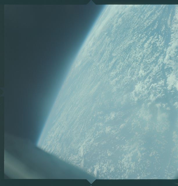 Gemini X Mission Image - North Vietnam/China