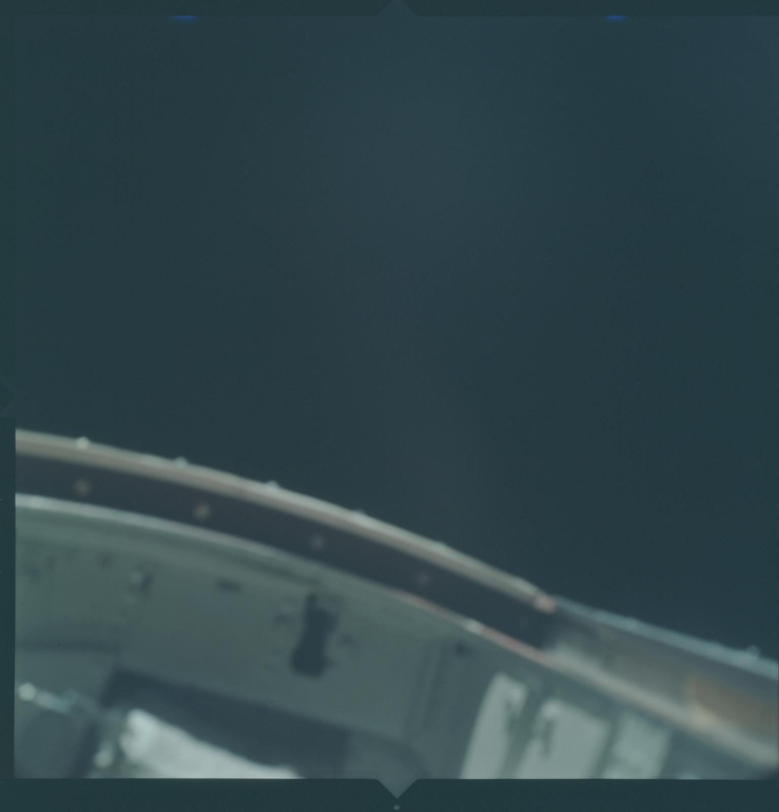 Gemini X Mission Image - Open Hatch