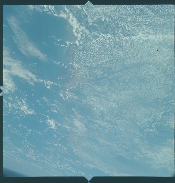 Gemini X Mission Image - Venezuela/Guayana/Trinidad/Surinam