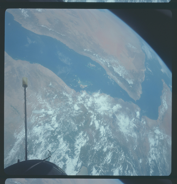 Gemini XI Mission Image - Africa/Middle East