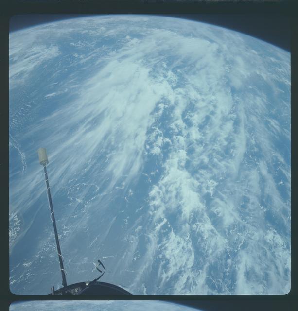Gemini XI Mission Image - Ceylon/Indian Ocean