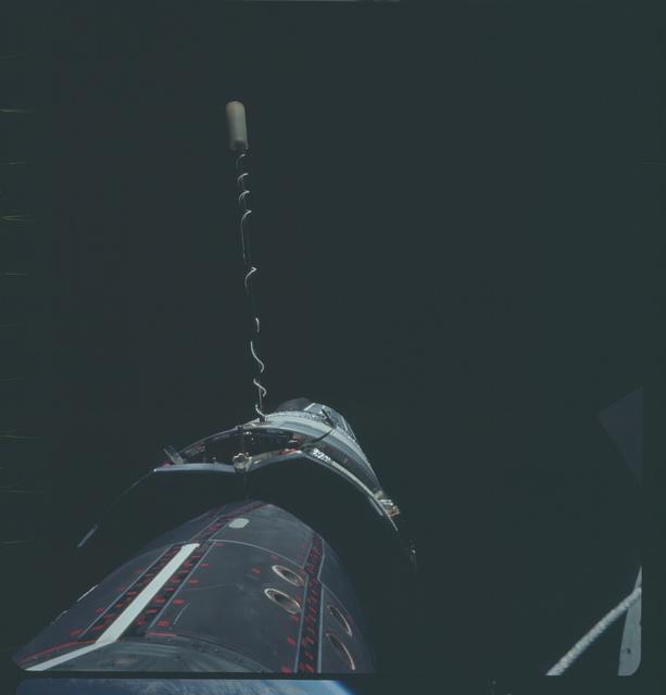 Gemini XI Mission Image - Stand-Up EVA