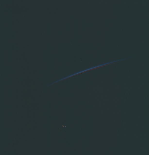 Gemini XII Mission Image - Earth Limb